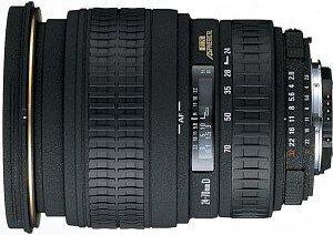 Sigma AF 24-70mm 3.5-5.6 Asp HF für Sony/Konica Minolta schwarz (605934)
