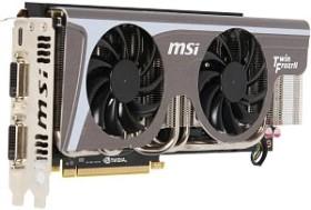 MSI N570GTX Twin Frozr II/OC, GeForce GTX 570, 1.25GB GDDR5, 2x DVI, Mini HDMI (V255-039R)