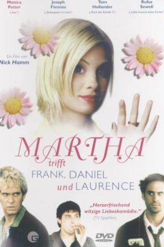 Martha trifft Frank, Daniel und Laurence -- via Amazon Partnerprogramm