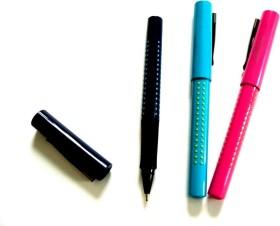 Faber-Castell Grip 2011 FineWriter, blau, 0.4mm, blau (140402)
