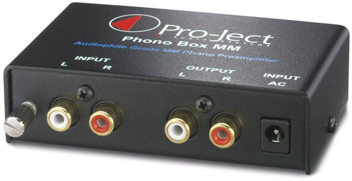 Pro-Ject phono Box MM black
