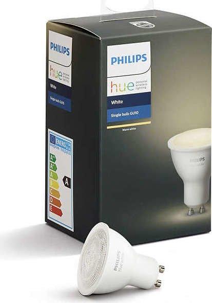 Philips Hue White LED-Spot GU10 5.5W (8718699605513)