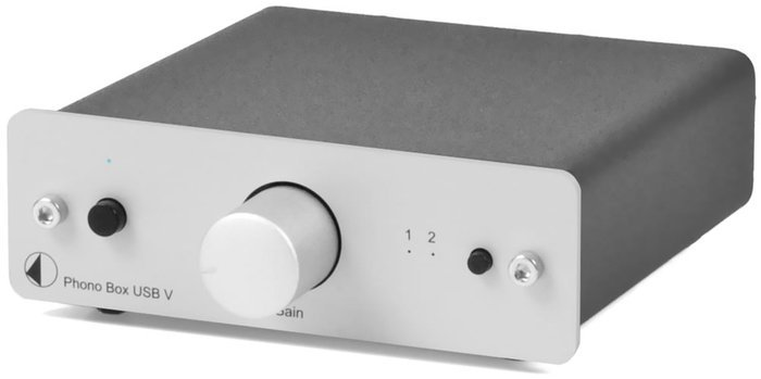 Pro-Ject Box Design phono Box USB V silver