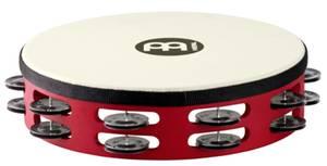 Meinl TAH2BK-R-TF rot Touring Tambourines