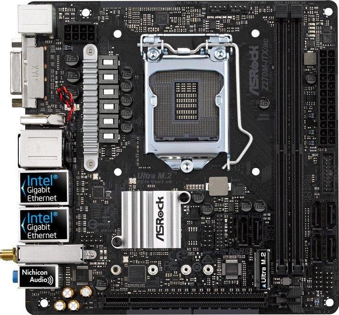 ASRock Z270M-ITX/ac (90-MXB3K0-A0UAYZ)