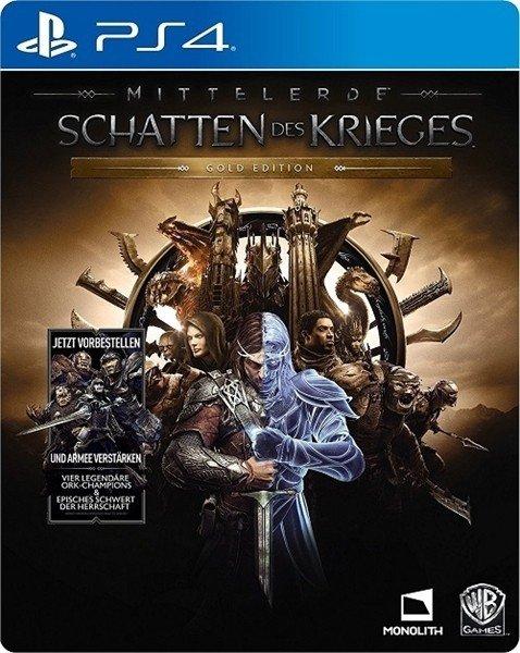 Mittelerde: Schatten des Krieges - Gold Edition (deutsch) (PS4)