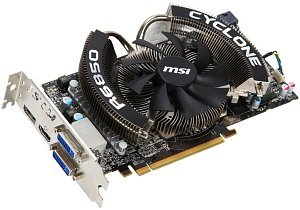 MSI R6850 Cyclone 1GD5 Power Edition/OC, Radeon HD 6850, 1GB GDDR5, 2x DVI, HDMI, DisplayPort (V244-002R)