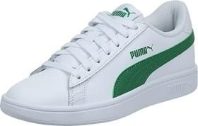 Puma Smash V2 L white/amazon green (365215-03)
