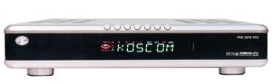 Koscom PVR 5970 VFD, festplattenvorbereitet
