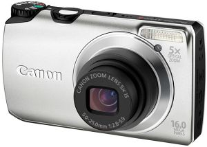 Canon PowerShot A3300 IS silver (5033B012)