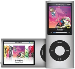 Apple iPod nano 8GB silber [4G] (MB598x/A)