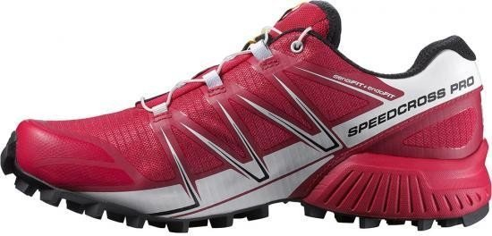 Salomon Speedcross Pro, Damen Traillaufschuhe, Pink (Lotus Pink/White/Black), 42 EU (8 Damen UK)