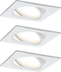 Paulmann LED Coin slim circular iron 3x 6.8W built-in light, 3er set (938.78)