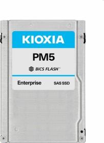 KIOXIA PM5-M Enterprise - 10DWPD Write intensive SSD 1.6TB, SAS (KPM51MUG1T60)