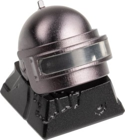 Zomoplus Aluminium Keycap PUBG LVL.3 Helm, schwarz/grau (759663285117)