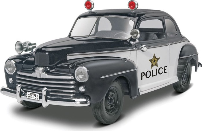Revell 1948 Ford Police Coupe 2n1 (14318)