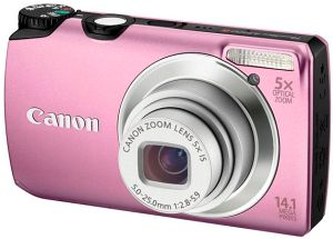 Canon PowerShot A3200 IS pink (5040B011)