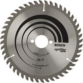 Bosch Optiline Wood circular saw blade 190x2x30mm 48Z, 1-pack (2608641186)