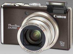 Canon PowerShot SX200 IS black (3509B011)