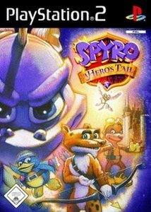 Spyro - A Hero's Tail (niemiecki) (PS2)