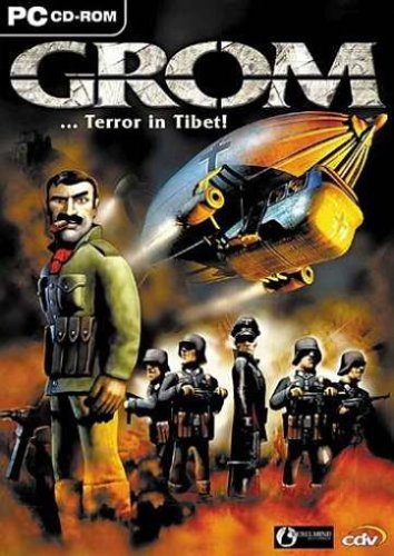 Grom - Terror in Tibet (niemiecki) (PC) -- via Amazon Partnerprogramm