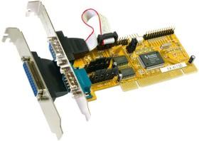 Exsys EX-41150, 2x seriell/1x parallel, PCI