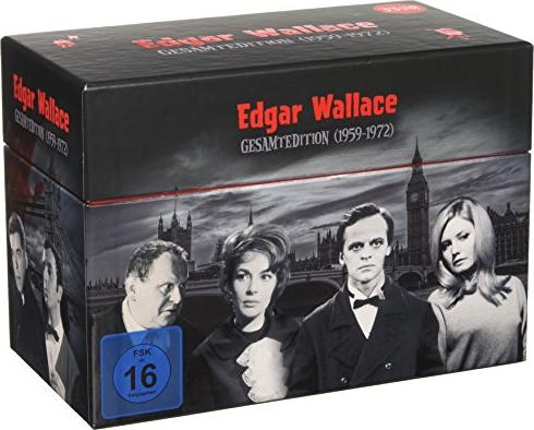 Edgar Wallace Gesamtedition (1959-1972) -- via Amazon Partnerprogramm