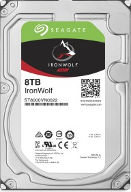 Seagate IronWolf NAS HDD 32TB Bundle, SATA 6Gb/s, 4x 8TB-Pack (ST8000VN0022X4)
