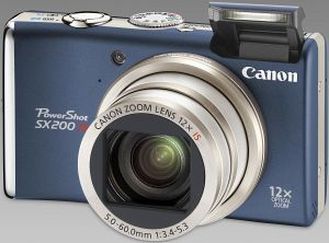 Canon PowerShot SX200 IS blue (3510B011)