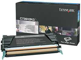 Lexmark Toner C736H2KG schwarz