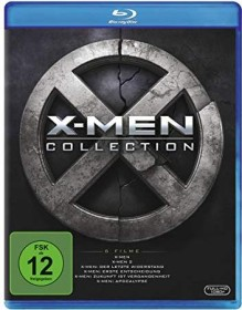 X-Men Collection (movies 1-6) (Blu-ray)