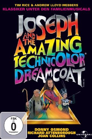 Joseph and the amazing technicolor dreamcoat -- via Amazon Partnerprogramm