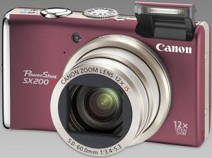 Canon PowerShot SX200 IS red (3511B011)
