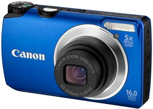 Canon PowerShot A3300 IS blau (5037B012)