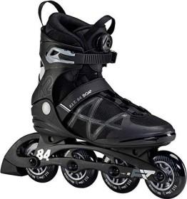 K2 F.I.T. 84 Boa Fitness-Skate schwarz/silber (Modell 2021)