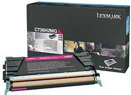Lexmark C736H2MG Toner magenta