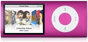 Apple iPod nano 16GB pink (4G) (MB907*/A)