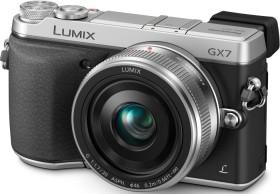 Panasonic Lumix DMC-GX7 silber mit Objektiv Lumix 20mm 1.7 II (DMC-GX7C)