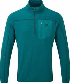 Mountain Equipment Integrity Zip-T Shirt langarm tasman blue (Herren) (ME-003901-ME-01398)