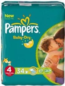 Pampers Baby-Dry Gr.4 Einwegwindel, 7-18kg, 34 Stück