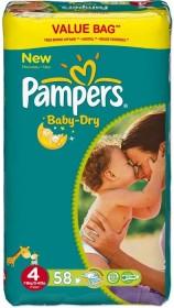 Pampers Baby-Dry Gr.4 Einwegwindel, 7-18kg, 58 Stück