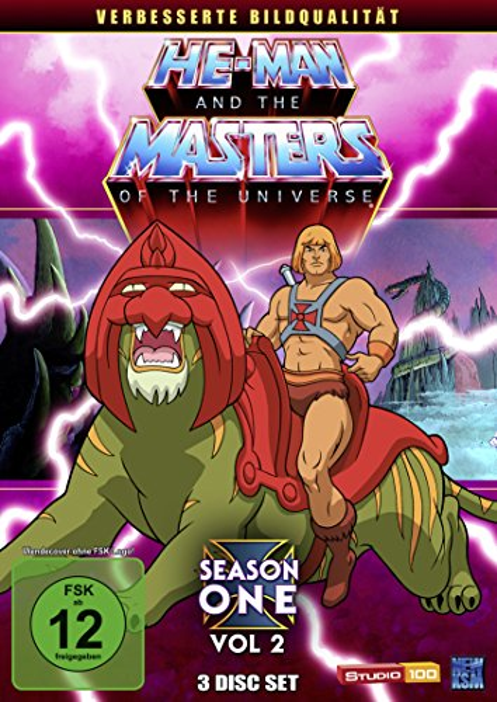 He-Man and the Masters of the Universe Season 1.2 (Folgen 34-65) -- via Amazon Partnerprogramm