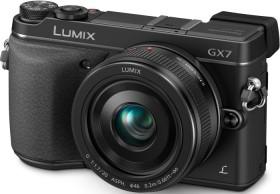 Panasonic Lumix DMC-GX7 schwarz mit Objektiv Lumix 20mm 1.7 II (DMC-GX7C)