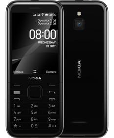 Nokia 8000 4G Dual-SIM onyx black