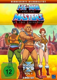 He-Man and the Masters of the Universe Season 2.1 (Folgen 66-98) (DVD)