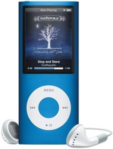 Apple iPod nano 16GB blau (4G) (MB905*/A)