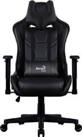 AeroCool AC220 AIR Gamingstuhl, schwarz (AC220AIR-B)