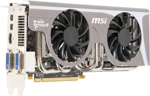 MSI R6950 Twin Frozr II, Radeon HD 6950, 2GB GDDR5, 2x DVI, HDMI, 2x Mini DisplayPort (V246-006R)