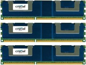 Crucial LRDIMM Kit 96GB, DDR3L-1600, CL9, ECC (CT3K32G3ELSLQ4160B)