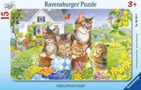 Ravensburger Puzzle Süße Kätzchen (06355)